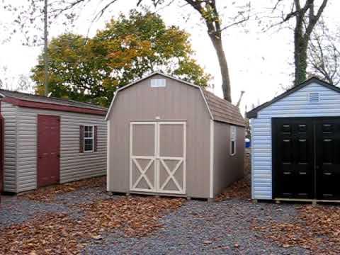 sheds wooden buildings storage sheds barns virginia va - Garden Sheds Virginia
