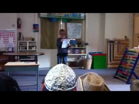 Mystery History 2011 @ Montessori School of Central Vermont - Part 1