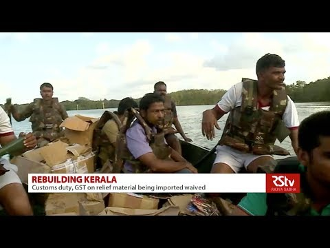 Challenges faced in rehabilitating Kerala