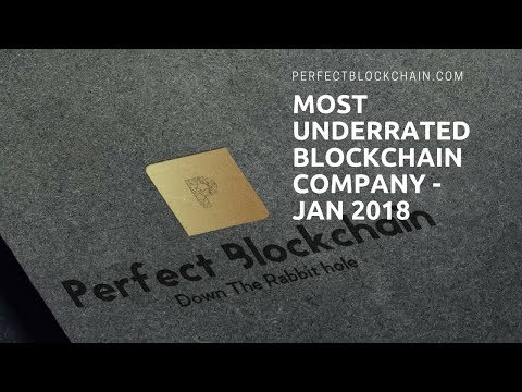 Perfect Blockchain Top Underrated Cryptocurrency of 2018