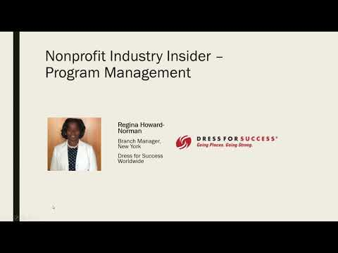Career Coffee Talk Webinar: Interviews with Nonprofit Industry Insiders