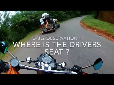 HAPPENS ONLY IN INDIA | WHERE IS THE DRIVERS SEAT? | DAILY OBSERVATION 1