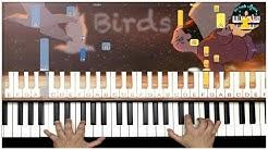 Imagine Dragons - Birds (BEAUTIFUL Piano Tutorial)