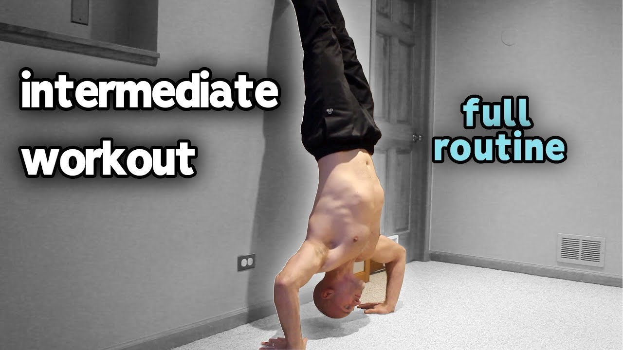 Calisthenics Intermediate Workout At Home (Full Routine)