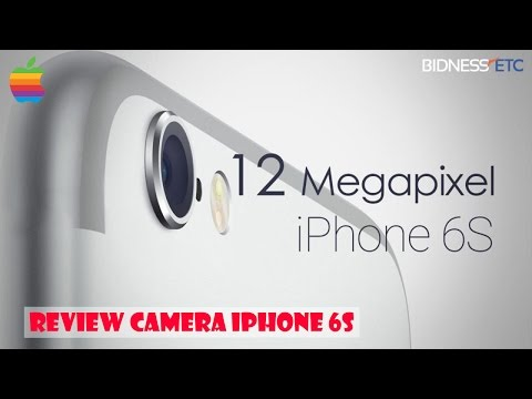 IPhone 6S MEGA Camera Review in 4k! Higher Resolution iSight Camera!