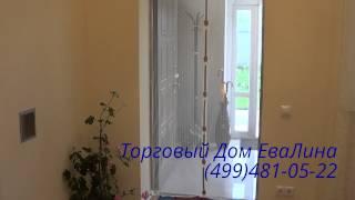 видео Антимоскитная сетка на дверь на магнитах: размеры, цена