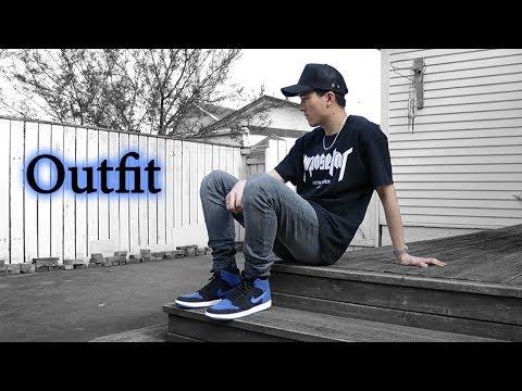 jordan 1 royal blue outfit