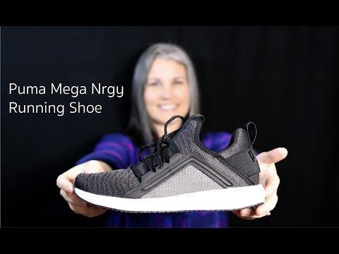 Puma Mega Nrgy Running Shoe - YouTube