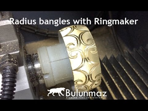 Radius Bangles with Ringmaker