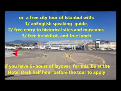 Secret Travel Trick with TURKISH AIRLINES and a little taste of Istanbul
