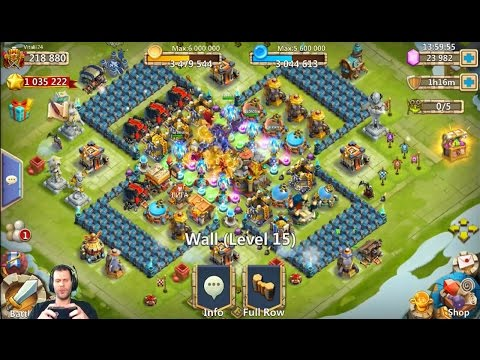 Very Nice Russian Account Rolling 35k For Michael IOS Castle Clash