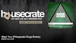 Martin Accorsi - Want You - Phlegmatic Dogs Remix