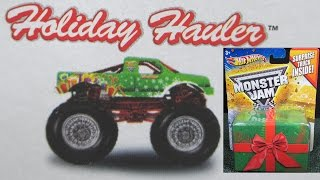 2011 Monster Jam Holiday Hauler Target Exclusive