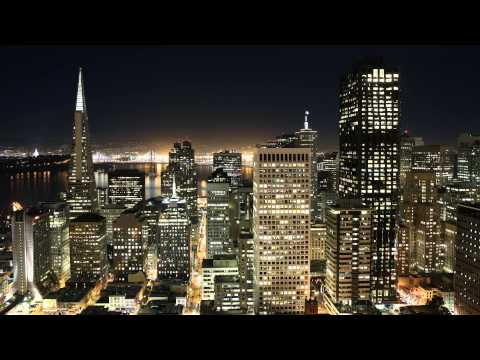 San FranciscoTime Lapse From The Penthouse Suite At The Fairmont San Francisco