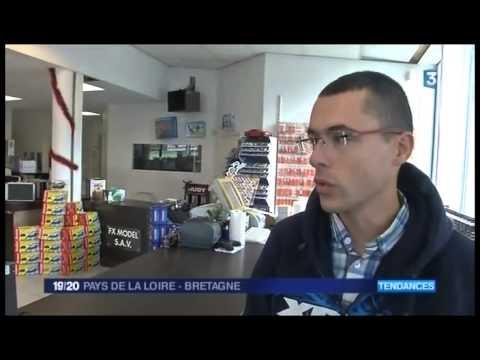 Reportage Drones France 3 régional 19/20 - FX Model