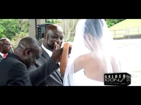 Robert Peters & Deborah Smalling Wedding Highlights in Atlanta  Golden Icons Coverage