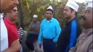 Famous encounter of AAP volunteers in Gujarat