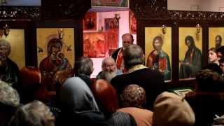 Проповед на отец Георги от село Жегларци