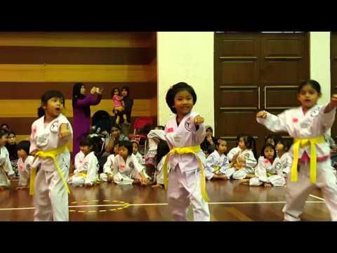 Taekwondo kids Malaysia