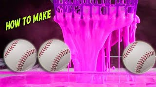 How to Make OOBLECK Stress Balls and Baseball Smashing Oobleck Balloon Balls