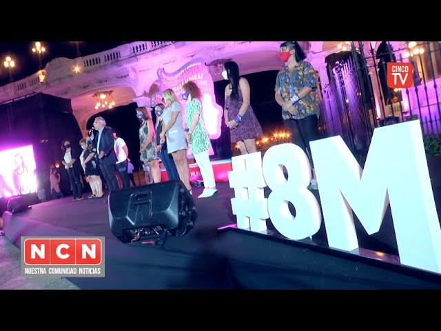 CINCO TV - Julio Zamora participó del acto conmemorativo por el 8M en el Museo de Arte de Tigre