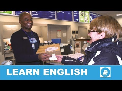 At the Post Office – Everyday English Conversation