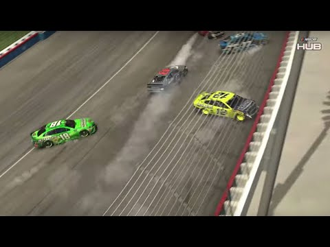 IRacing RADIOACTIVE From Texas Motor Speedway | NASCAR RACE HUB