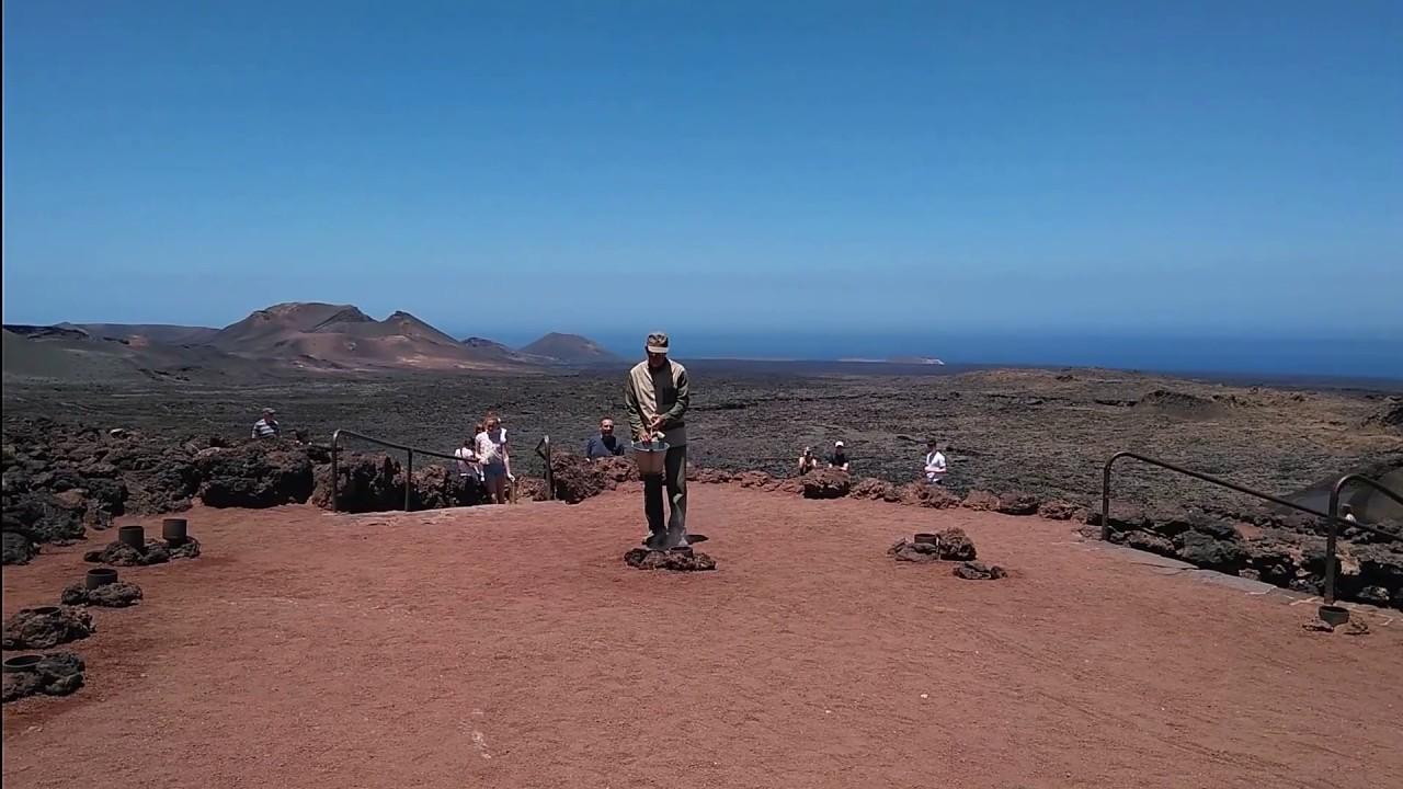Montañas Del Fuego Timanfaya Lanzarote Gastasuelas Com Youtube