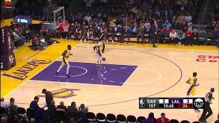 1st Quarter, One Box Video: Los Angeles Lakers vs. San Antonio Spurs