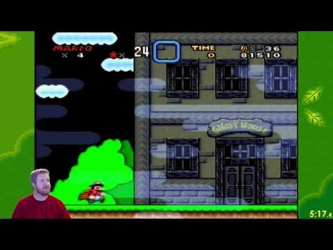 Super Mario World - World 2 Any% (8:08.68) PB