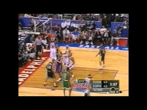 2002 NBA Rookie Challenge Best Plays