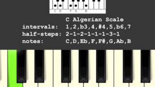 Algerian Musical Scale