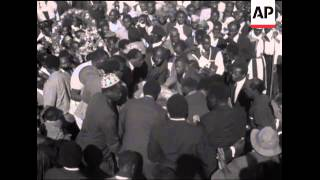 SYND 12 07 1969 FUNERAL OF ASSASSINATED MINISTER TOM MBOYA