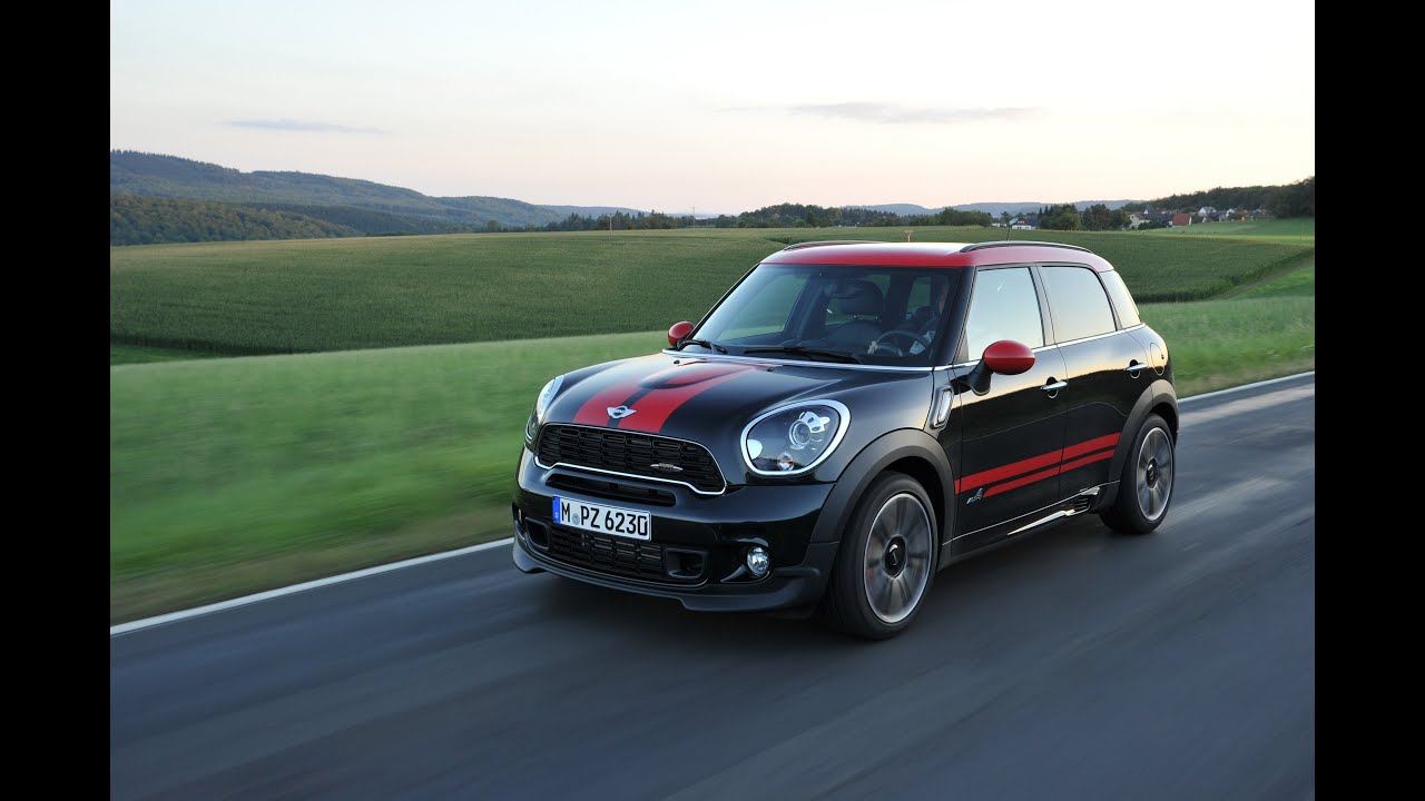real world test drive 2013 mini john cooper works countryman youtube. Black Bedroom Furniture Sets. Home Design Ideas