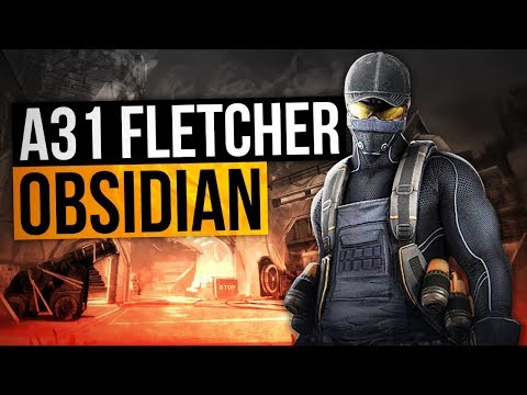 Dirty Bomb | Fletcher A31 Obsidian Operative