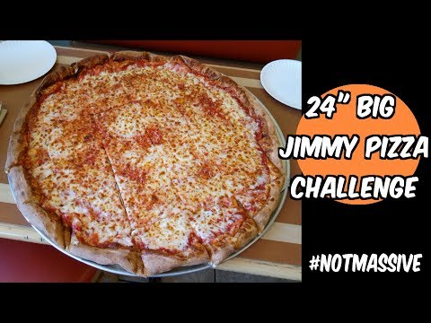 "Big Jimmy 24"" Team Pizza Challenge at Jimmy & Joe's in Mesa, AZ 