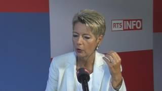 L'invité de la rédaction - Karin Keller-Sutter