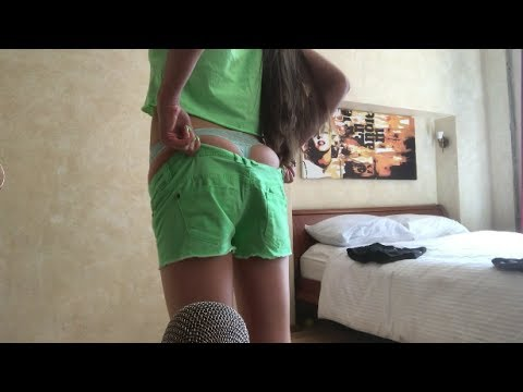 Sexy ASMR try on shorts gf rp) whisper, sounds of material, sexy look! from YouTube · Duration:  15 minutes 51 seconds