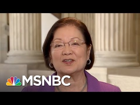 Sen. Mazie Hirono Questions Ability Of The Justice Department To Be Neutral | MSNBC