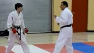Kicking Drills, Sparring Drills, Competitive Karate Training In Winnipeg