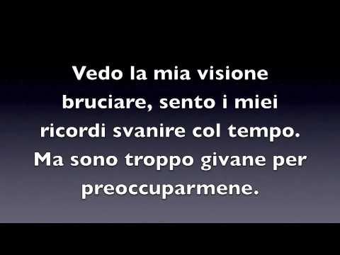 Seize The Day - Avenged Sevenfold LYRICS IN ITALIANO