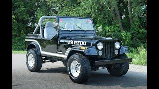 1986 Jeep CJ7 - Test Drive