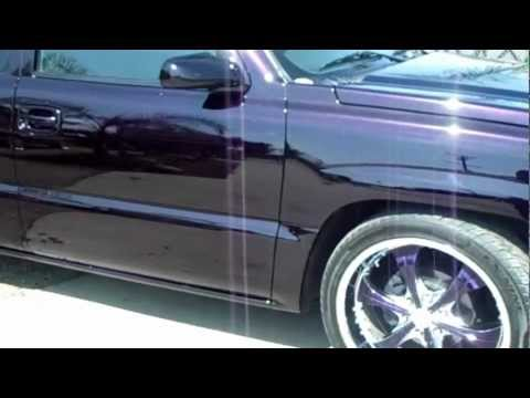 2005 CHEVY SILVERADO CANDY VOO-DOO VIOLET  PREMIER PAINT AND BODY