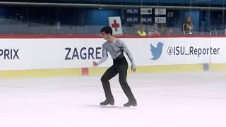 2015 ISU Junior Grand Prix - Zagreb Men Free Skate Armen AGAIAN GEO