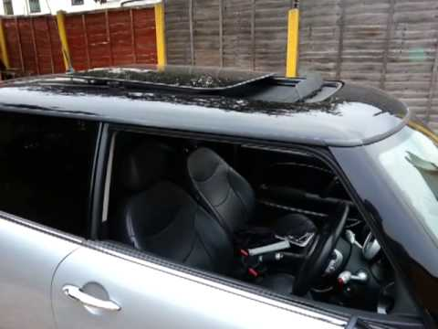 Mini Cooper 2003 Windows Sunroof Open Remote Youtube