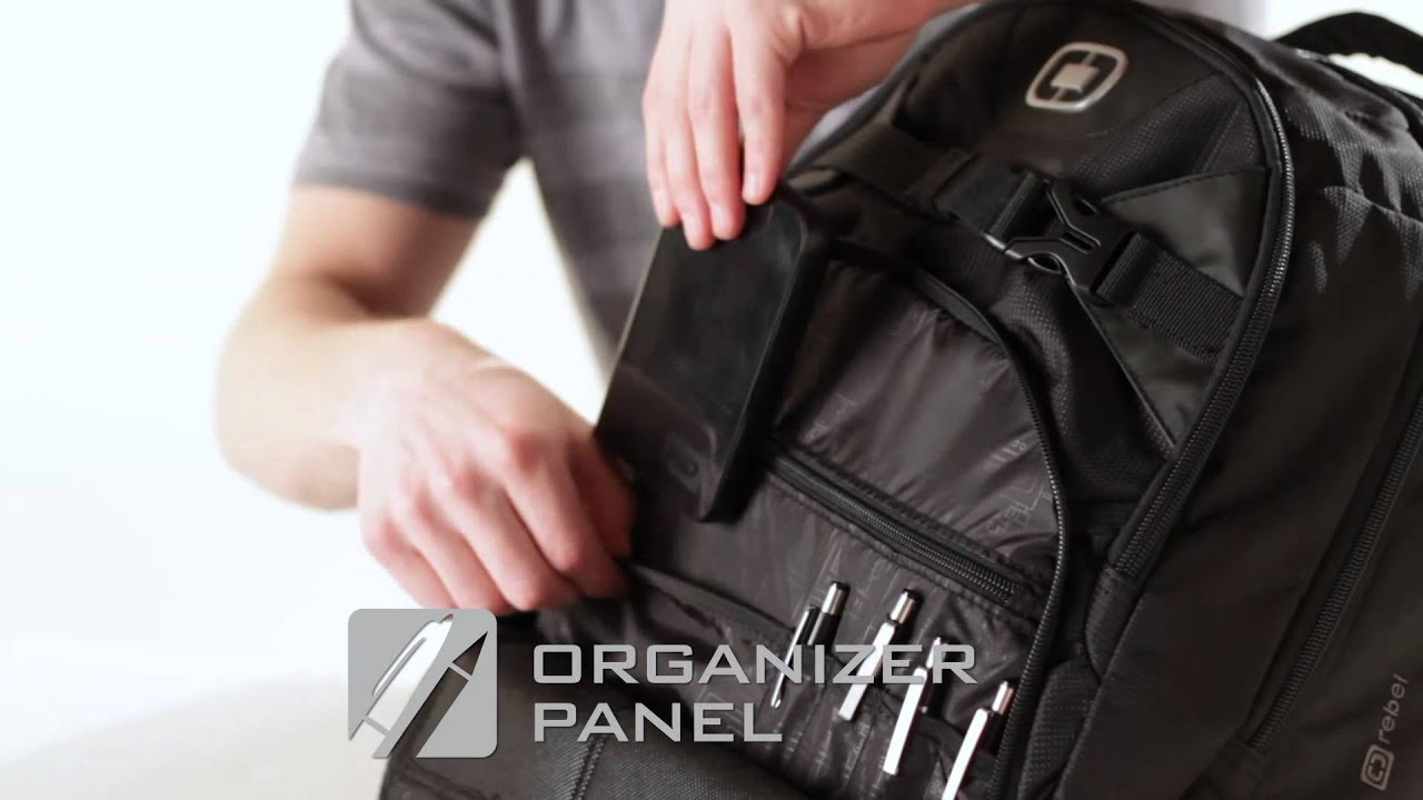 Your Key to Success: OGIO Rebel Backpack - YouTube