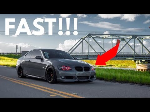 919WHP Single Turbo BMW N54 335i! FAST!!