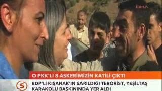 Gültan Kışanak İle Öpüşen O PKK'lı 8 Askerimizin Katili Çıktı.