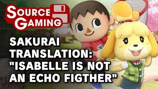 Sakurai Translation - Isabelle is Not an Echo Fighter (Vol. 563)