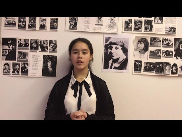 Изображение предпросмотра прочтения – ЕлизаветаДобрынина читает произведение «В зале» М.И.Цветаевой